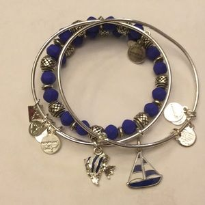 3 Alex and Ani bracelets